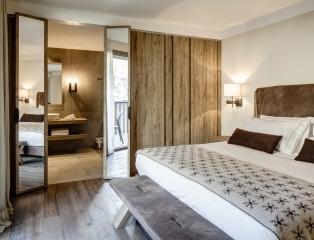 Suite del Grand Hotel Courmayeur Mont Blanc