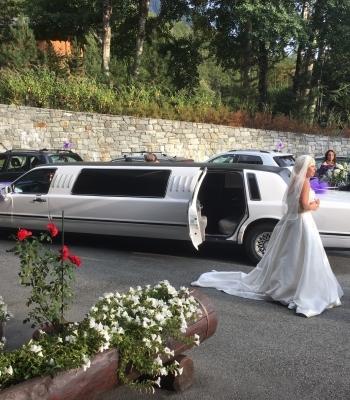 Matrimonio in limousine